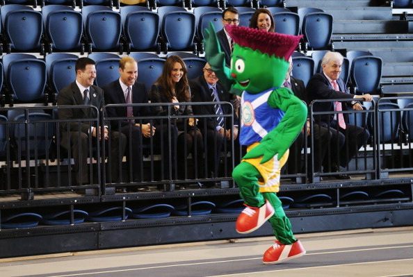 Glasgow 2014 mascot Clyde celebrates his first birthday today