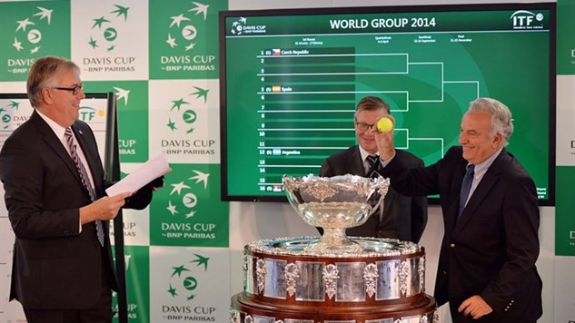 Britain have been drawn against the US in the 2014 Davis Cup