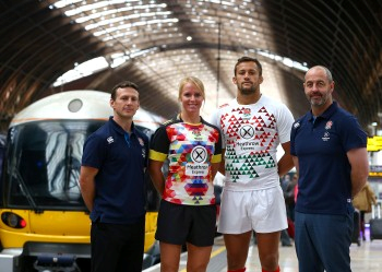 Heathrow Express is the new lead sponsor of the men's and women's England Sevens teams