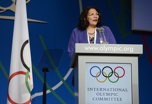 Anita De Frantz regained her place on the International Olympic Committee Executive Board