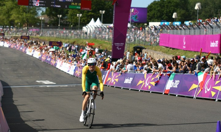 Brands Hatch hosted cycling during the London 2012 Paralympics