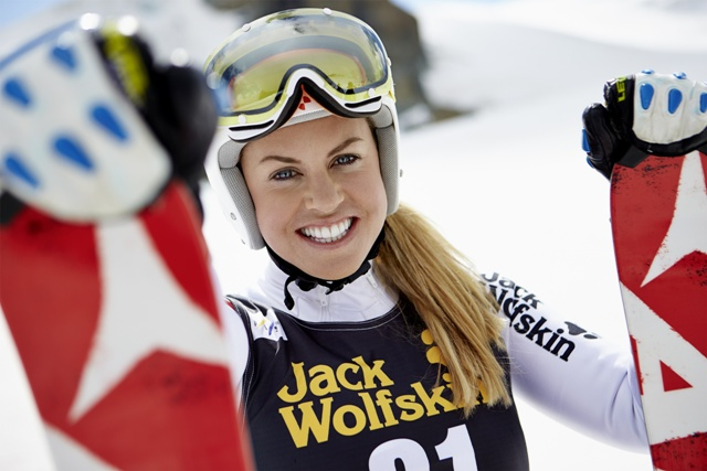 British skier Chemmy Alcott will be the face of Jack Wolfskin and write a regular blog
