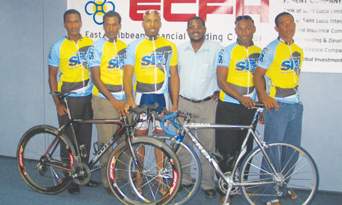 "Cyril Mangal (centre), President of the St Lucia Cycling Association, is upset after he claims he was contacted by someone purporting to be a member of Brian Cookson's campaign team urging him to back him and promising they would be on the ""priority list of the Federations which would be helped"""