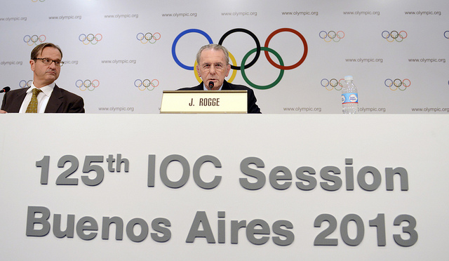 India have been told by IOC President Jacques Rogge that they must stop tainted officials holding senior officials if they are to have their Olympic ban lifted