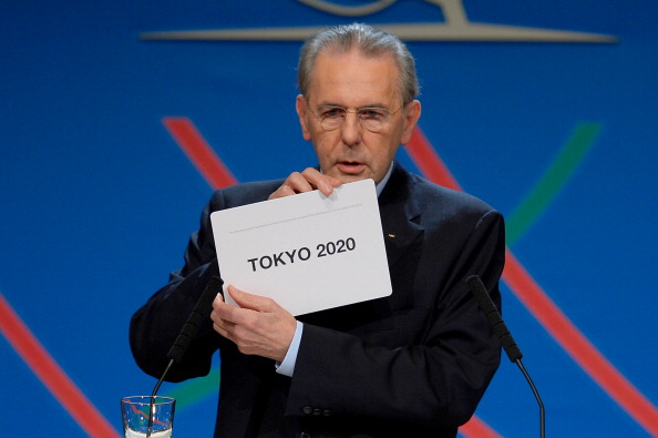 Jacques Rogge announced that Tokyo had been awarded the 2020 Olympics and Paralympics