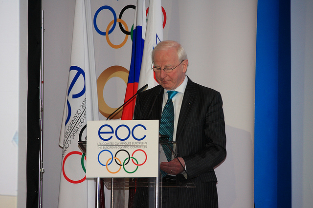 Ireland's Pat Hickey will be unopposed for a third term as President of the European Olympic Committees