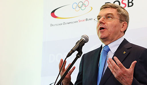 Thomas Bach has led the DOSB since it was formed in 2006