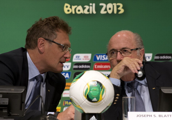 Jérôme Valcke and Sepp Blatter will lead discussions on Russia's anti-gay legislation prior to the 2018 World Cup in the nation