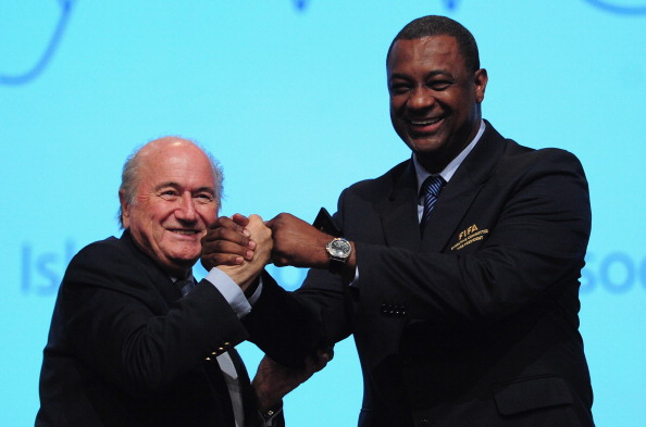 FIFA Discriminaion Panel chairman Jeffrey Webb (pictured right) has confirmed that FIFA President Sepp Blatter (pictured left) and secretary general Jérôme Valcke will lead discussions over Russia's anti-gay law