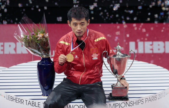 Zhang Jike is the biggest name on the line-up for the ITTF World Cup in Belgium