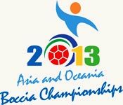 2013 Asia and Oceania Boccia Championships take place at the Sydney Olympic Park Sports Centre
