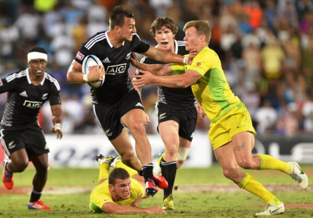 Ambrose Curtis proved too hot to handle for Australia as he crossed for two tries in the final on the Gold Coast