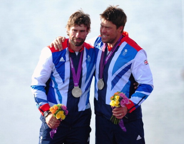 Andrew Simpson (right) and his good friend Iain Percy took gold at Beijing 2008 and silver at London 2012 in the Star class