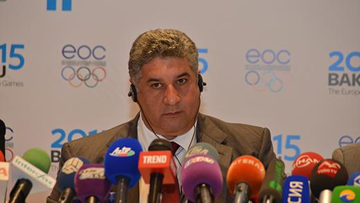 "Azerbaijan's Sports Minister Azad Rahimov has called athletics ""the king of sports"""