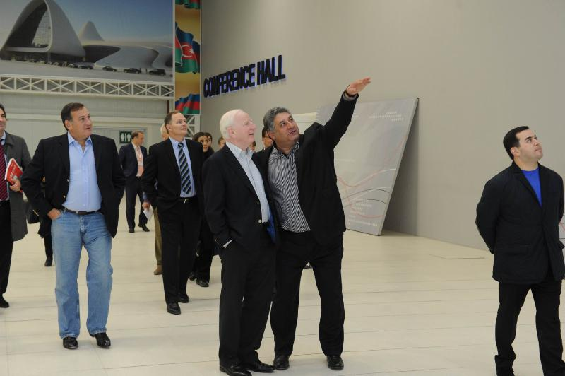 Baku is currently preparing to host the 2015 European Games and this week hosted a meeting of the Coordination Commission which included European Olympic Committees President Patrick Hickey, being shown some of the facilities here by Azerbaijan's Sports Minister Azad Rahimov