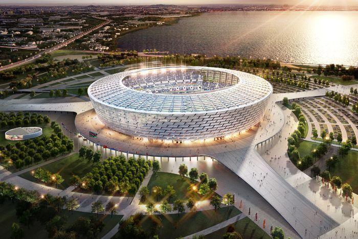 Baku's new 65,000-capacity-Stadium will host the Opening and Closing Ceremonies