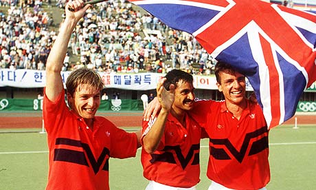 Britain's men's hockey team of 1988 are marking the 25th anniversary of their Seoul gold