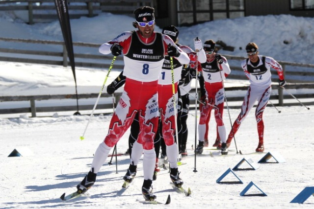 Canada's Paralympic champion Brian McKeever will be hoping to be ahead of the pack again at Sochi 2014
