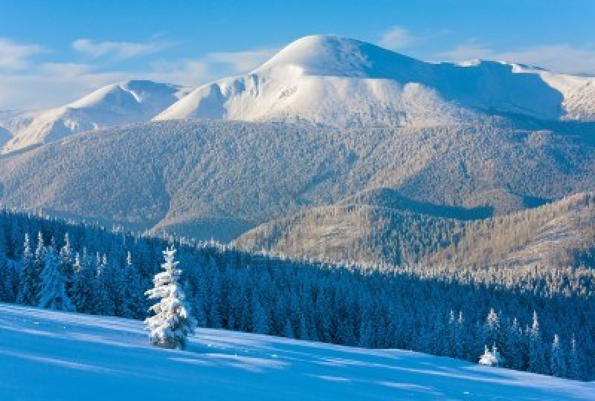Lviv's bid for the 2022 Winter Olympics and Paralympics will centre on the Carpathian Mountains
