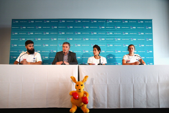 Chef de mission Ian Chesterman was speaking alongside several prospective members in the Australian team in Sochi