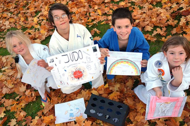 Children in Germany take part in World Judo Day last year when the theme was respect