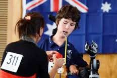 Daniel Michel is one of five Australian athletes poised for the quarter-finals at the Asia Oceania Boccia Championships in Sydney