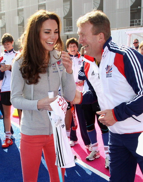 David Faulkner, pictured here with Catherine, Duchess of Cambridge, ahead of London 2012, will be at the 25th anniversary gala reunion dinner