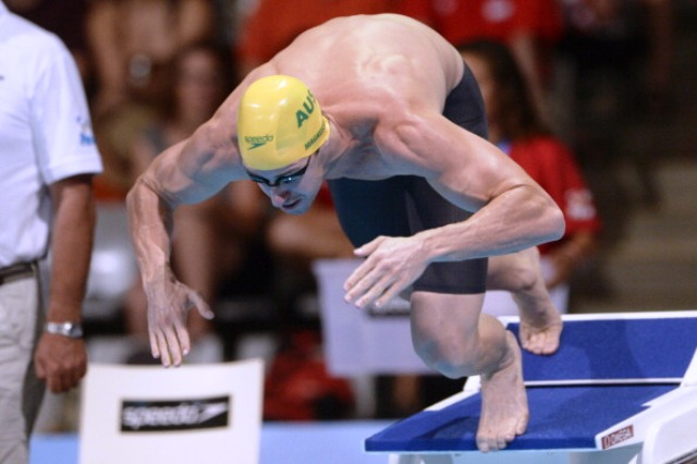 Double men's 100m freestyle champion James Magnussen will be taking part in GO Swim Month this week