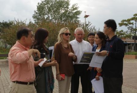 FISU delagates arrive in Gwangji for inspection of GUOC preparations