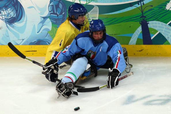 Florian Planker once again proved the main man for Italy by bagging two goals in their victory over Sweden