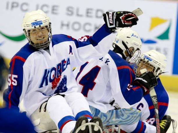 Following their victory at the qualification tournament South Korea will be dark horses at the Winter Paralympics