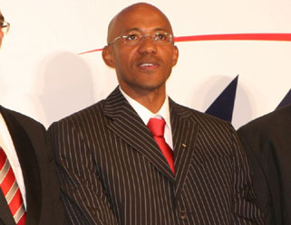 Frankie Fredericks had been President of Athletics Namibia since 2009