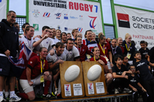 GB Rugby 7s team win 2012 World University Rugby 7s Championship in Brive France