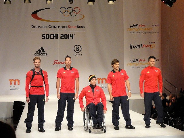 Adidas are providing more than 50 pieces of equipment for German athletes competing at Sochi 2014