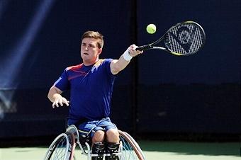 Gordon Reid claimed the biggest win of his singles career in France this weekend