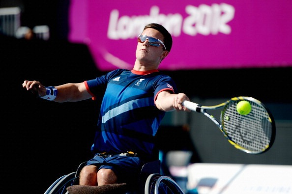Gordon Reid will be hoping to shine next year as the NEC Wheelchair Tennis Masters take place in the Olympic Park