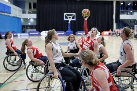 Great Britain's women in action against Germany earlier in 2013