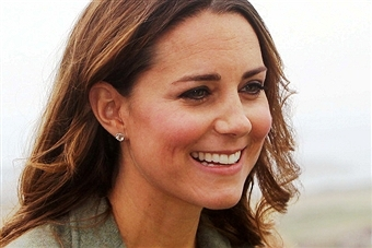 HRH the Duchess of Cambridge will meet young athletes at the Copper Box Arena in the Olympic Park