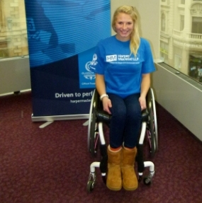 Harper Macleod has named Sammi Kinghorn as its Athlete Ambassador ahead of the 2014 Commonwealth Games