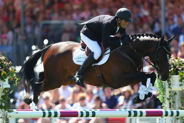 Jonathan Paget has been suspended after the horse he rode to victory at the Burghley International Horse Trials tested positive for a banned substance