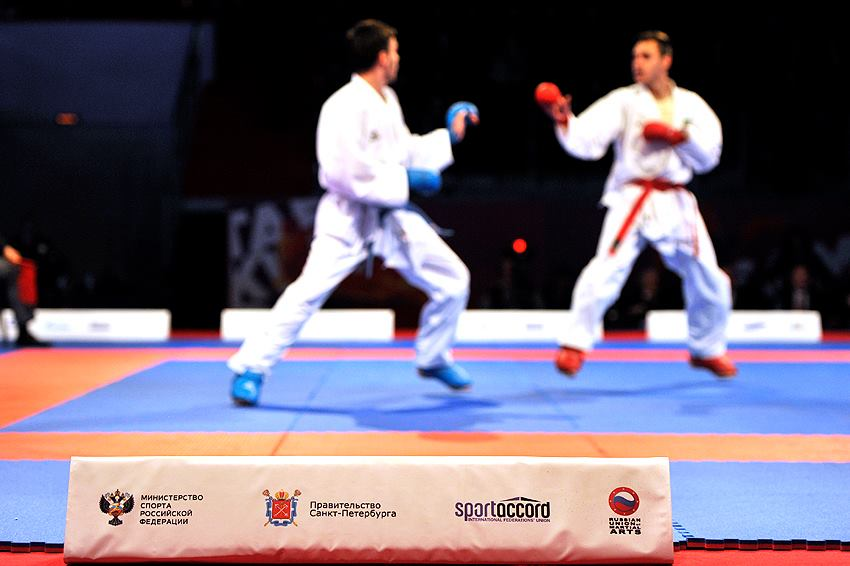 Karate has been a popular attraction at the SportAccord World Combat Games in St Petersburg