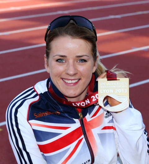 London 2012 champion and Sports Fest ambassador Josie Pearson followed up her Paralympic Games win with World Championship gold earlier this year