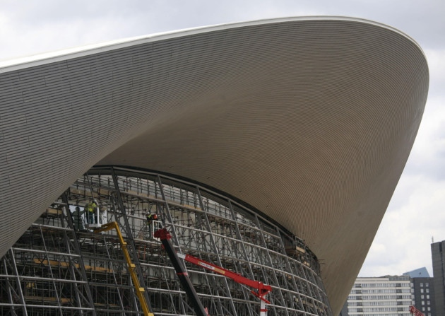 The Aquatics Centre built for London 2012 is currently being reconfigured and is due to reopen next year