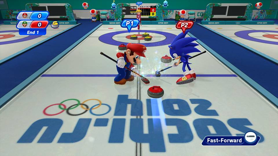 Mario and Sonic at the Sochi 2014 Olympic Winter Games will be launched on November 8