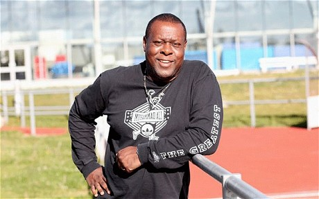 MikMike McFarlane, one of Haringey AC's leading lights as an athlete and coach