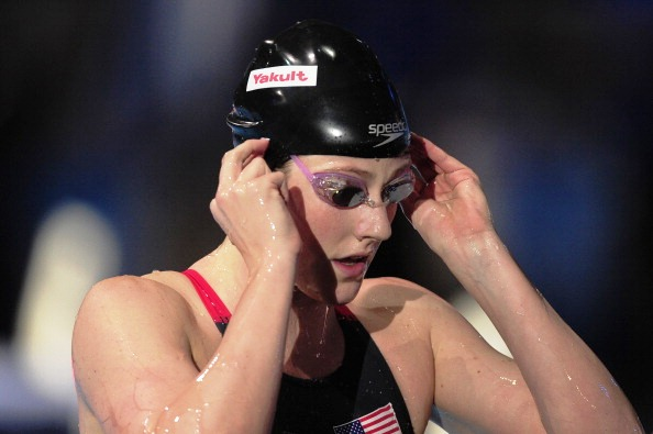 Missy Franklin is going for a hat-trick of female athlete of the year awards at the Golden Goggles in Los Angeles