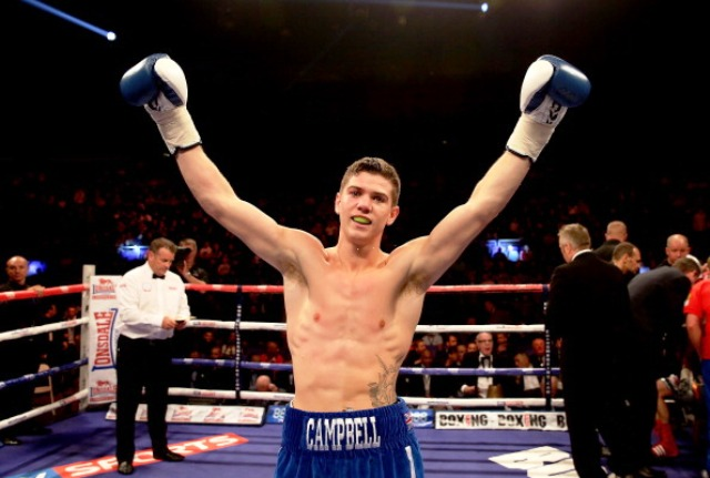 Olympic champion Luke Campbell made it two wins from two in the professional ranks