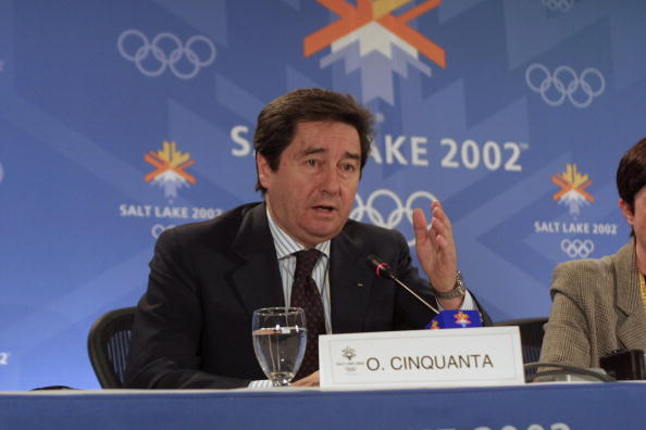 International Skating Union President Ottavio Cinquanta found himself at the centre of worldwide attention during the 2002 Winter Olympics in Salt Lake City following a judging scandal