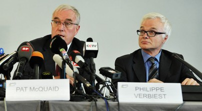 Belgian lawyer Philippe Verbiest, a close ally of former Preident Pat McQuaid, has had his ties with the International Cycling Union severed by new chief Brian Cookson