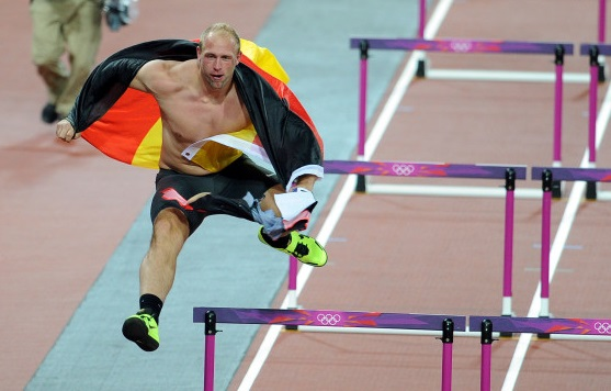 Robert Harting boosted his popularity after the night out which followed his Olympic discus gold medal